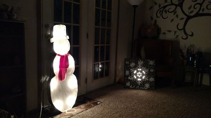 Snowman for Christmas :)