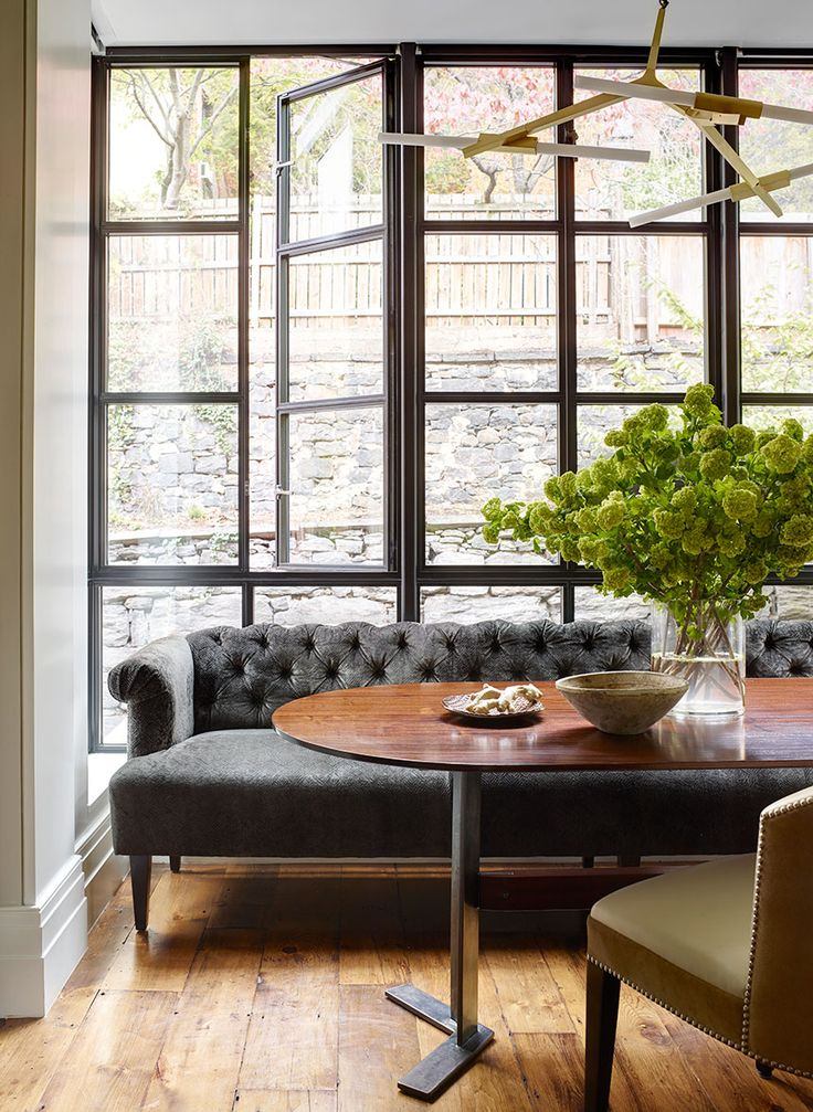 Brooklyn Heights Residence Dining Contemporary Greek Revival Modern By CWB Architects