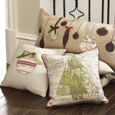 So cute DIY: Christmas Pillows ? *?? Christmas *?? ? Pinterest