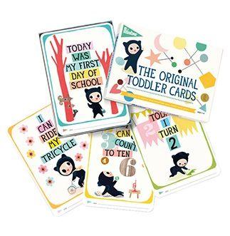 Image of Toddler Milestone Cards