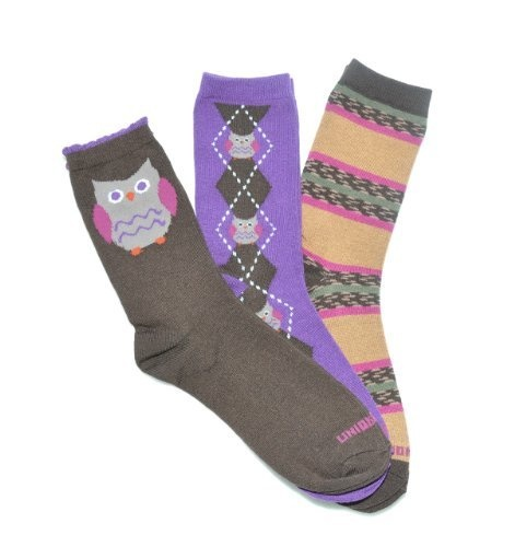 Owl Crew Socks 3-Pack by @PacificLegwear for @UnionBay