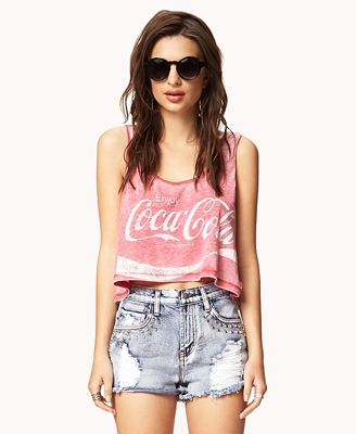 Burnout Coca-Cola™ Tank on Chiq  $13.80 http://www.chiq.com/coca-cola/burnout-coca-cola-tank
