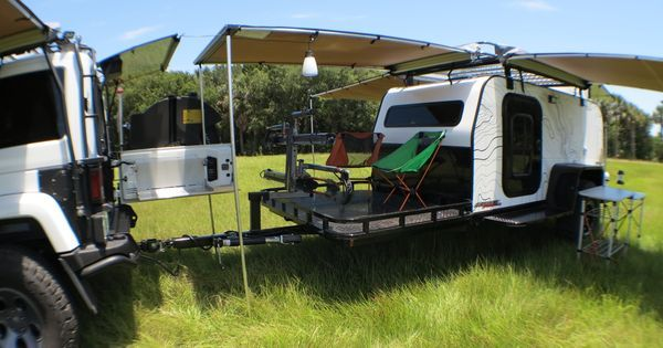 '15 Panther Overland camper trailer (demo) - American Expedition Vehicles - Product Forums | Camping and bug out trailers | Pinterest | Expedition vehicle, Cam…