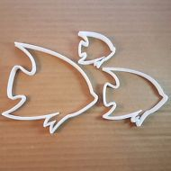 Angel Fish Dory Animal Water Shape Cookie Cutter Biscuit Pastry Fondant Sharp