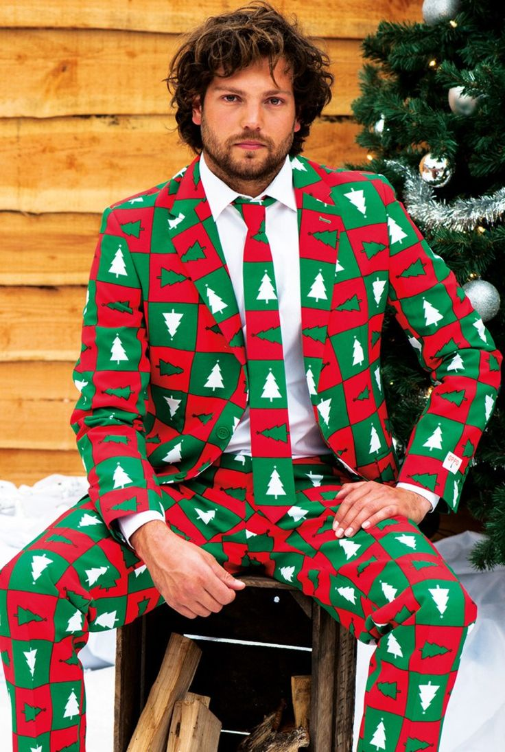 Ugly Christmas Suits. There is nothing like an Ugly Christmas Suit to say I like Christmas, I like to have fun and I have enough money to waste on something stupid like this. Girls... look for the guy wearing the Ugly Christmas Suit.