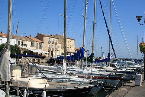 Boats in the port, Marseillan