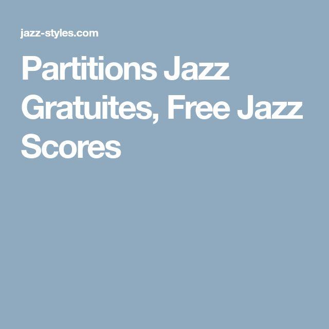 Partitions Jazz Gratuites, Free Jazz Scores