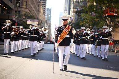 Columbus Day Parade in New York City