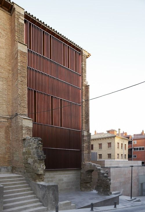 Refurbishment of Huesca City Archives, Huesca, Spain