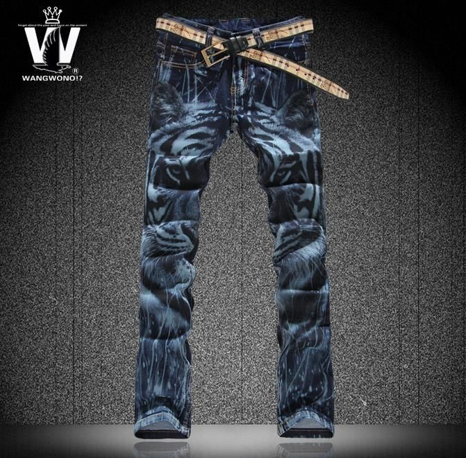 Like and Share if you want this  Spring fashion blue painting tiger england 1 jeans men pant man denim trousers straight elastic slim street famous brand     Tag a friend who would love this!     FREE Shipping Worldwide     Get it here ---> http://onlineshopping.fashiongarments.biz/products/spring-fashion-blue-painting-tiger-england-1-jeans-men-pant-man-denim-trousers-straight-elastic-slim-street-famous-brand/