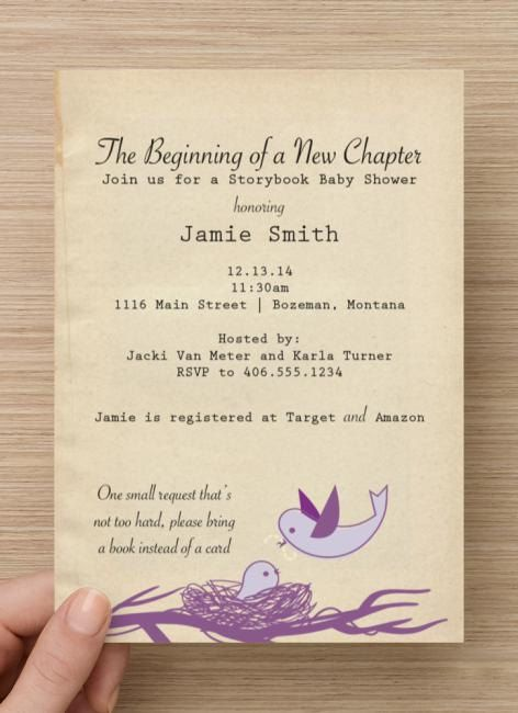 the 25+ best storybook baby shower ideas on pinterest | storybook, Baby shower invitations