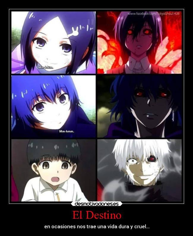 tokyo ghoul kaneki x touka | carteles destino vida destino anime tokyo ghoul ken kaneki touka ...