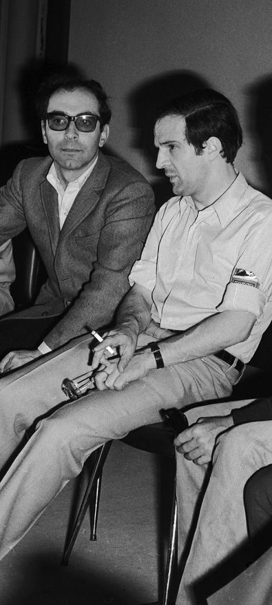 jean-Luc Godard & Francois Truffaut