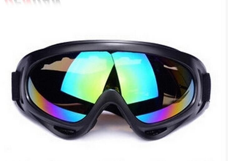 Outdoor riding bicycle motorcycle goggles X400 military tactical protective goggles windproof ski goggles