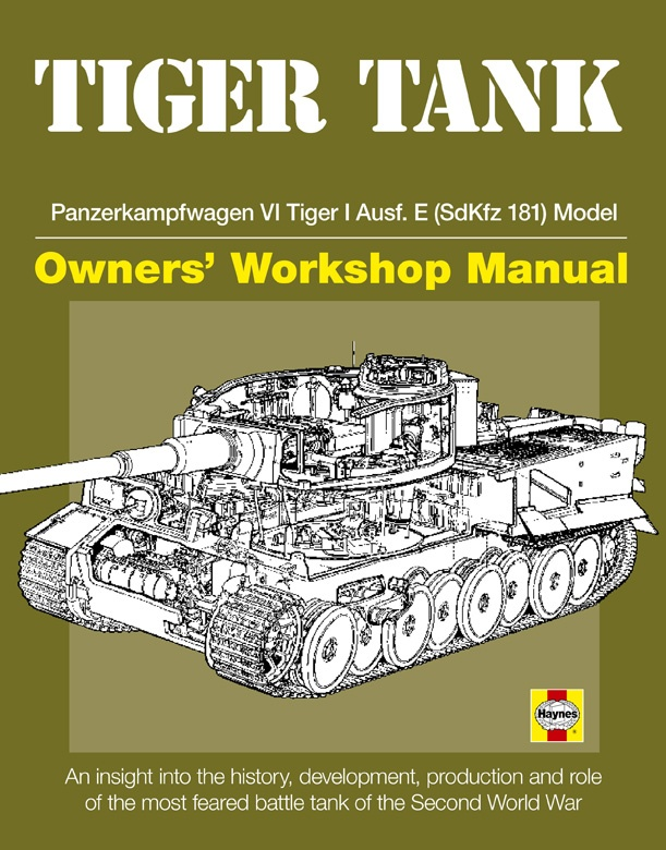 tiger tank manual by david fletcher