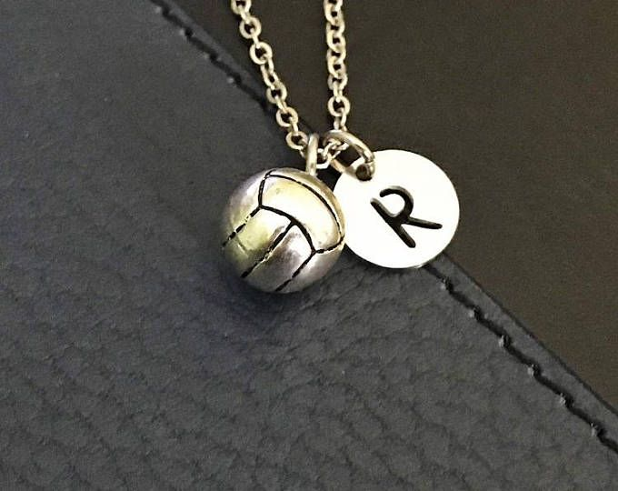 Volleyball Necklace Volleyball Charm Necklace Volleyball Jewelry Gifts For Volleyball Team Sports G Volleyball Necklace Womens Necklaces Volleyball Jewelry