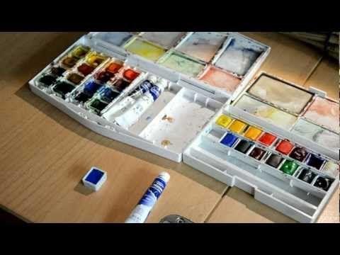 Tuto aquarelle : les premiers pas - YouTube