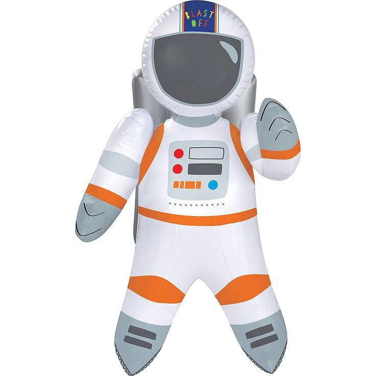 Blast off inflatable astronaut 22in astronaut birthday