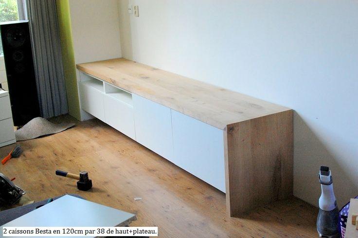 Album - 13 -  Ikea Hacker (série 2) trucs et astuces pour Besta, Billy, Expedit, réalisations clients
