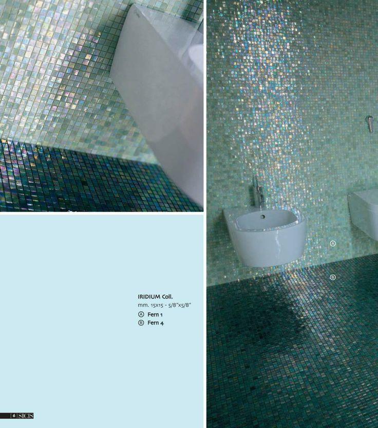 bathroom bright tiles mosaico gresite para el bao