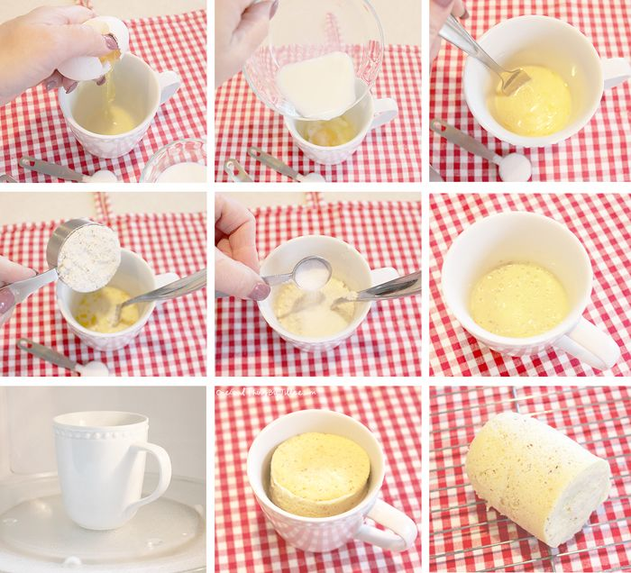 Gluten-free bread in a cup :-)