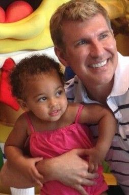baby chloe chrisley | Todd Chrisley & granddaughter Chloe