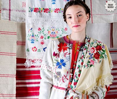 Traditional folklore with a modern twist. Colorful embroidery, gorgeous photography. Gudrun Sjödén designs and creates her clothes and home textiles in natural materials with an emphasis on Scandinavian design.