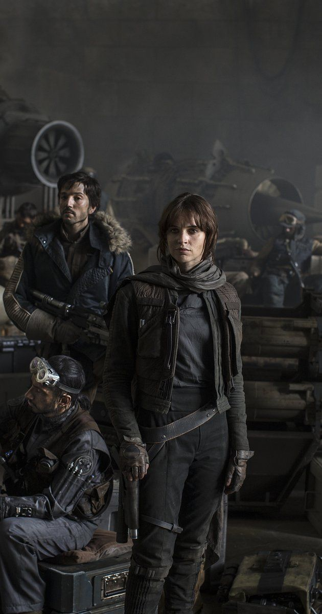 Directed by Gareth Edwards.  With Felicity Jones, Mads Mikkelsen, Alan Tudyk, Donnie Yen. Rebels set out on a mission to steal the plans for the Death Star.