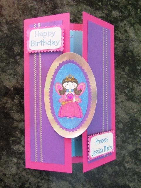 kids' birthday card