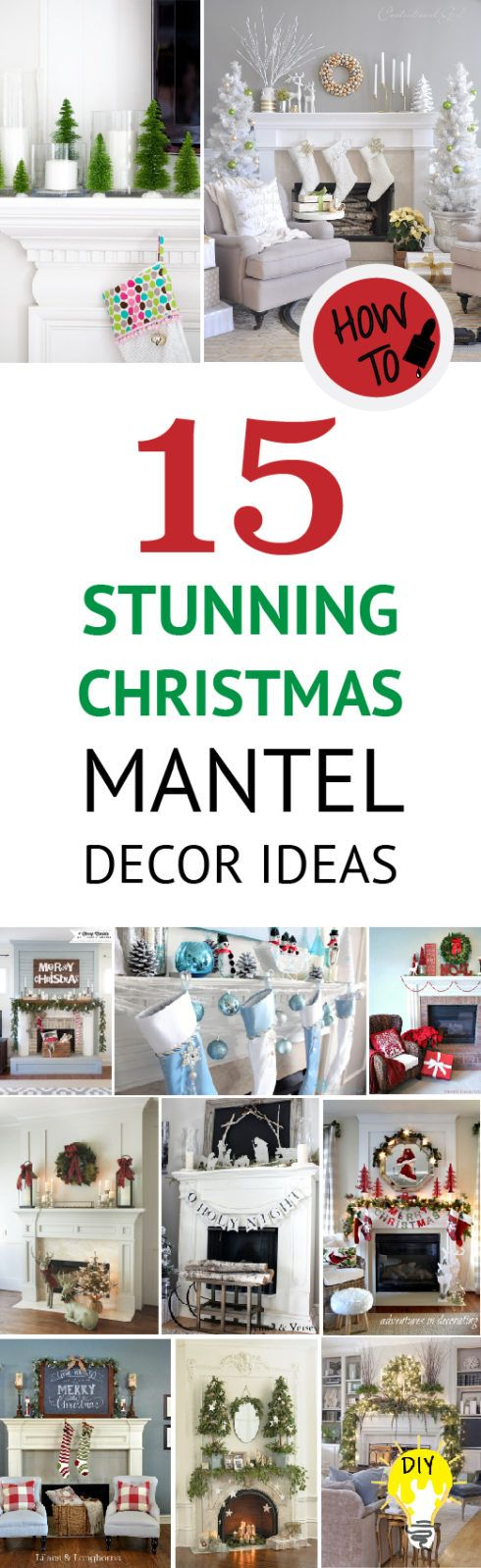 The Mantel is a great spotlight for Christmas decor. Here are several Christmas mantel decor ideas to fit every home, style, and budget.