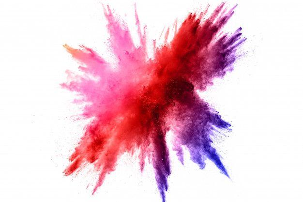 Color Powder Explosion Colorful Dust Splashing Po De Cor Explosao De Po Cores De Tinta