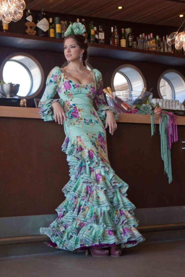 Colección Añejo 2012   Trajes de Flamenca Pepa Garrido