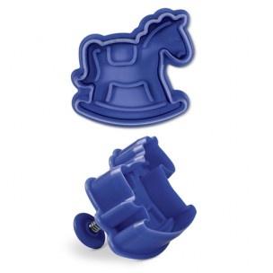 Maak een schattig schommelpaardje met deze plunger uitsteker.