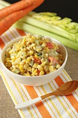 Thanksgiving Recipes - Company Corn Recipe