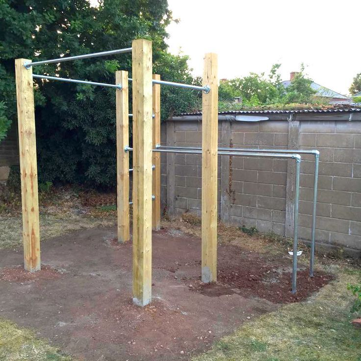 Garden Calisthenics Outdoor Gym Pull Up Bars Dip Street Workout