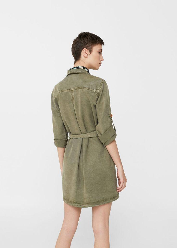 Bandana gömlek elbise | MANGO