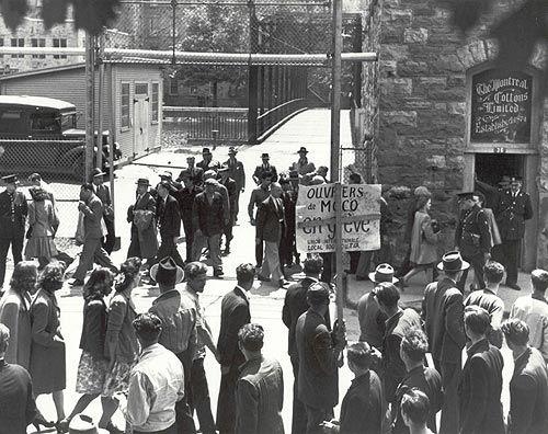 Grève à la Montreal Cotton Company. (1946).