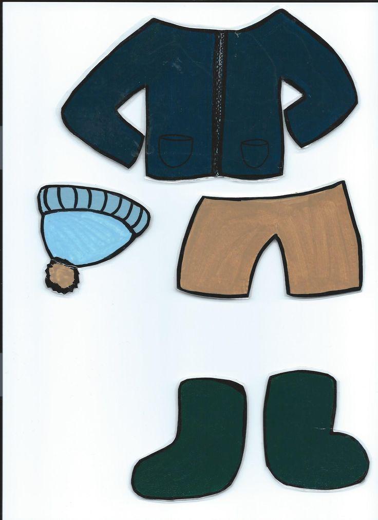 Les habits du loup à habiller en fonction du temps