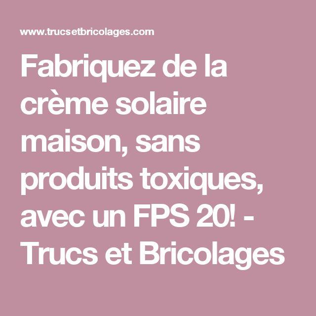 Fabriquez de la crème solaire maison, sans produits toxiques, avec un FPS 20! - Trucs et Bricolages