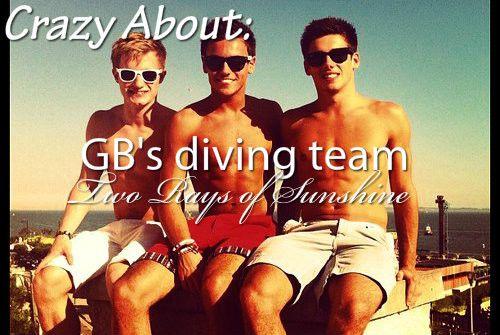 GB's diving team