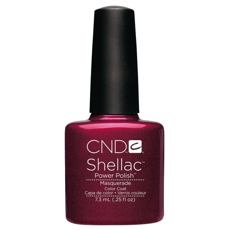 Amazon.com: CND SHellac UV Color - Masquerade .25 oz.: Beauty