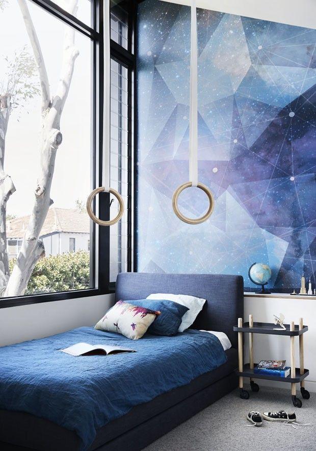 Casa Funcional E Cheia De Estilo Para Uma Família Australiana. Bunk BedsKid  BedroomsMural IdeasTom PastelKitchen IdeasKids RoomsInterior ... Part 67