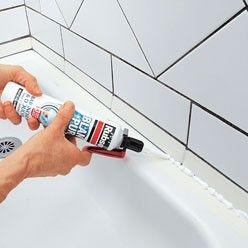 Comment changer le joint en silicone de la douche ? Les étapes et explications techniques en photos.