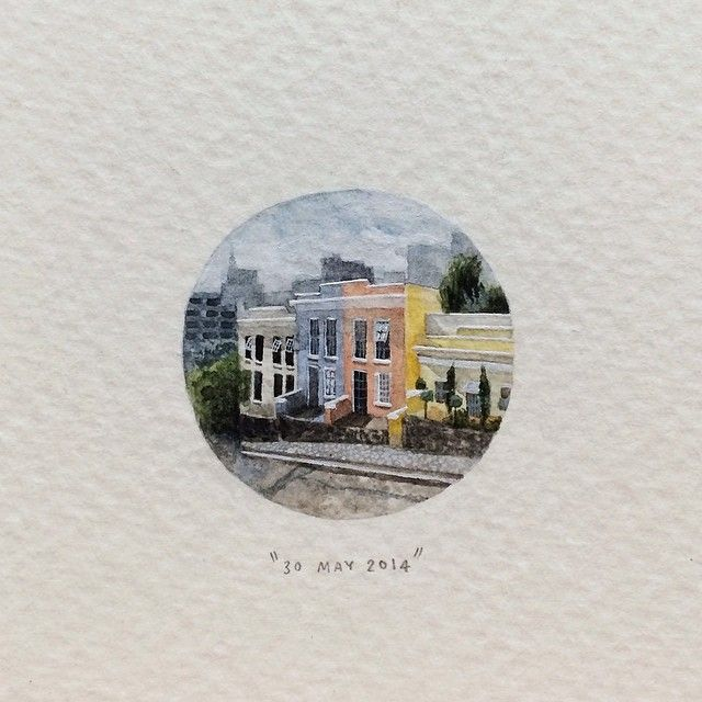 '365 Postcards for Ants', A Miniature Painting-a-Day Project by Lorraine LootsCraig Roland