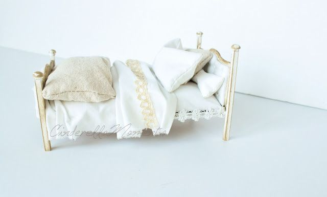Dollhouse Upholstered Bed Tutorial | Cinderella Moments | Bloglovin'