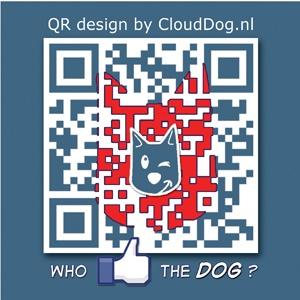 Who let the dog out! waf waf wafwaf  #Qr #qrcode