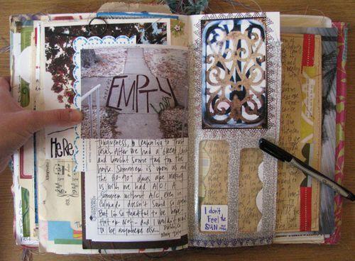 awesome mixed media journal...Debra Cooper rules!!
