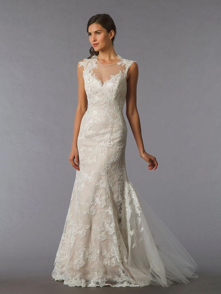 Kleinfeldbridal: Marisa: Bridal Gown: 32846438: Sheath: No throughout Marisa Wedding Gowns