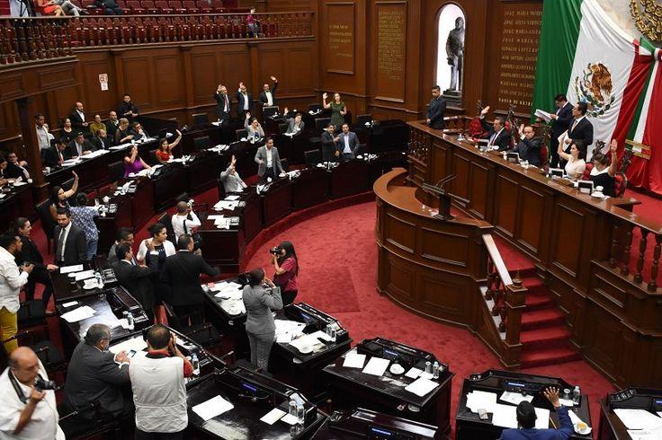 El pleno de la LXXIII Legislatura aprobó el dictamen con proyecto de decreto por el que se expide la Ley de Responsabilidades de los Servidores Públicos; las sanciones aplicarán no ...
