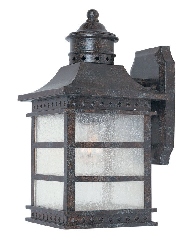 Savoy House 5 440 Asian Themed 1 Light Outdoor Wall Sconce From The  Seafarer Collection